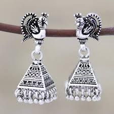 sterling silver peacock chandelier
