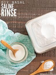 diy nasal saline solution don t waste
