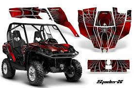 Can Am Renegade Graphics Kit By Creatorx Decals Stickers Spiderx Yellow By Automotive Decals Emblems