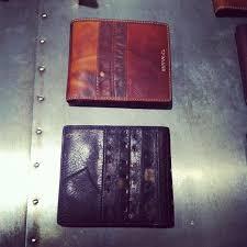 baseball glove wallet to take the train