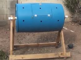 build a tumbling composter and
