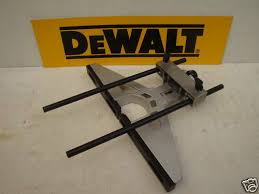 942914 Dewalt Dw625 Dw629 Router Parallel Fence Guide Rail Micro Adjuster For Sale Ebay