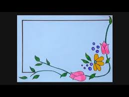 flower border design for projects