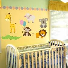 Nursery Zoo Animal Wall Decals Animal Decal Set Wall Decal World