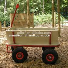 kids wagon with four pneumatic wheels