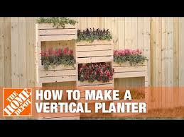 how to make a vertical planter the