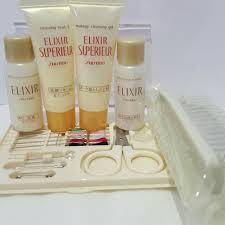 shiseido elixir superieur travel set