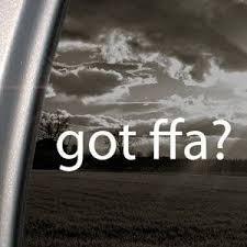 Amazon Com Got Ffa White Decal Sticker Future Farmers Agriculture Car White Decal Sticker Arts Crafts S Truck Window Stickers Girl Decals Window Stickers