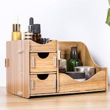 wooden makeup storage box apollobox