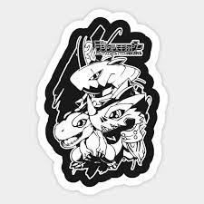 Digimon 20th Anniversary Digimon Sticker Teepublic