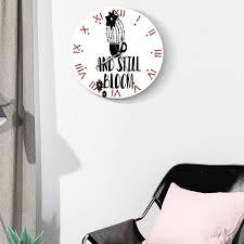 Nordic Creative Silent Wall Clock Kids Room Modern Design Wall Clock Living Room Creative Reloj Digital Pared Home Watch Bb50 Shop Clocks Online Shop Wall Clock From Yujinnice 29 84 Dhgate Com