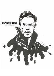Stephen Strange Doctor Strange Benedict Cumberbatch Drawing Blackandwhite Marvel Doctorstrange Marvel Drawings Marvel Artwork Avengers Drawings