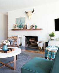 weekend makeover mid century eclectic