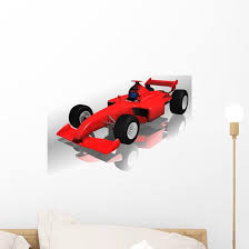 Ferrari F1 Highly Detailed Wall Decal Wallmonkeys Com