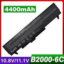 4400mAh laptop battery for HP B2000 LG ...