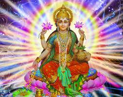 સુખી અને સફળ જીવનના સૂત્રો જણાવે છે, કમળ પર બેઠેલાં લક્ષ્મીજી... - Suvichar  Dhara
