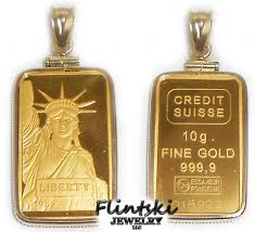 10 gram credit suisse gold bar coin