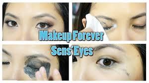 makeup forever sens eyes makeup remover