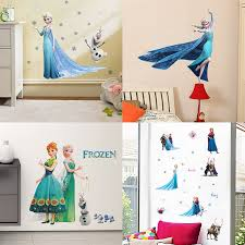 Cartoon Frozen 2 Movie Elsa Anna Princess Wall Stickers For Girls Room Home Decoration Diy Anime Mural Art Kids Room Wall Decals Buy At The Price Of 3 42 In Aliexpress Com Imall Com