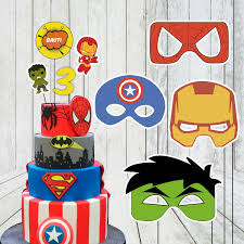 Kit Imprimible Cumpleanos Superheroes 400 00 En Mercado Libre