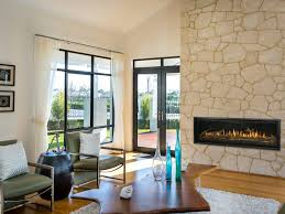 install a linear gas fireplace