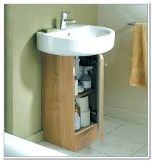 storage units bathroom white rattan the