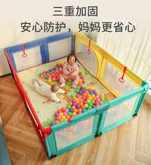 Children S Play Fence Indoor Home Baby Toddler Safety Fence Fence Baby Crawling Mat Fence Playground Baby Playpens Aliexpress