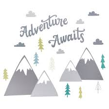 Send Your Little One On A Journey With This Adventure Awaits Wall Decal From Cloud Island Amp 153 Th Adventure Awaits Nursery Adventure Nursery Cloud Island