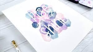 masking fluid watercolor art tutorial