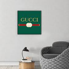 Vova Fashion Classic Clothing Logo Canvas Paintings Wall Art Pictures Poster Print Gallery For Living Room Home Decor