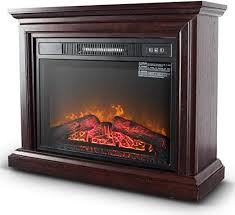 belleze 3d infrared electric fireplace