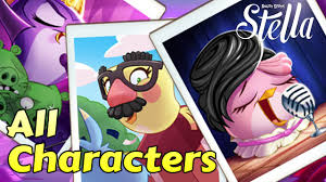 Angry Birds Stella - All Characters+Skins+Superpowers! - Gameplay ...