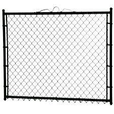 Yardgard 3 1 2 Ft X 4 Ft Walk Through Steel Metal Chain Link Fence Gate Gsa4248pbl The Home Depot