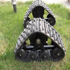 rubber track system for atv utv asv
