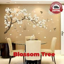 Luckkyy Three Playful Pandas Bear On Cherry Blossom Tree Wall Decal Tree Wall St For Sale Online Ebay