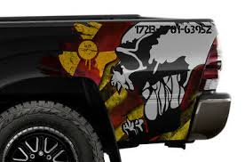 2 Toyota Tacoma Decal Sticker Chuck Norris Pair Autograph Signature Taco Xo Decals Stickers Patches