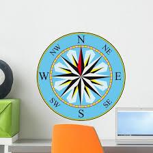 Compass Wall Decal Wallmonkeys Com