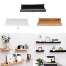 Floating Shelves Trays Bookshelves And Display Bookcase Modern Wood Shelving Units For Kids Bedroom Wall Mounted Storage Shelf Decorative Shelves Aliexpress