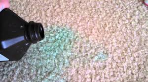 set in sn on carpet how to get rid