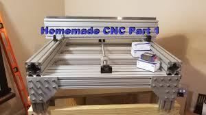 homemade diy cnc build part 1 building