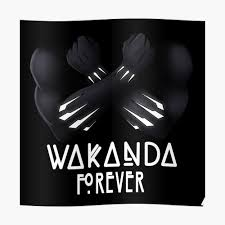 Wakanda Forever Sticker By Mikemincey Redbubble