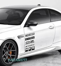 Racing Sponsors Infiniti Sport Car Sticker Emblem Logo Decal Black Pair Ford Sports Cars Chevy Sports Cars Custom Car Decals