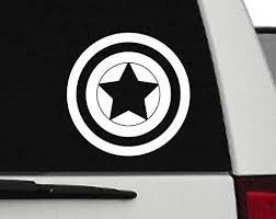Decal Captain America Captain Americ Buy Online In Aruba At Desertcart