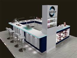 kiosk for nail polish nail salon beauty