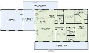 house plan 82350 ranch style with