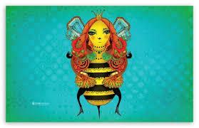 queen bee ultra hd desktop background