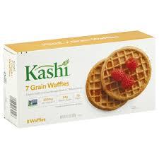 kashi 7 grain frozen breakfast waffles