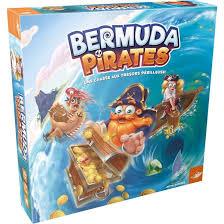 Bermuda Pirates - Regle du jeu et avis - Fox Mind - asmodee - DeludiK