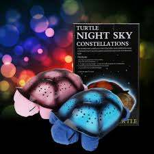 Musical Flashing Tortoise Starlight Turtle Night Light Lamp Starry Sky For Sale Online Ebay
