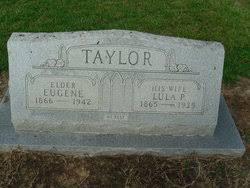 Lula Priscilla RIchardson Taylor (1865-1935) - Find A Grave Memorial